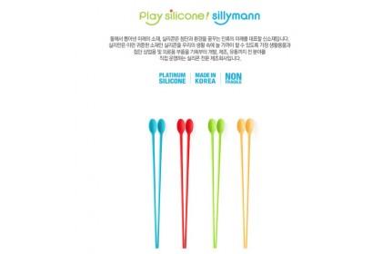 韓國製 Sillymann 矽膠長筷