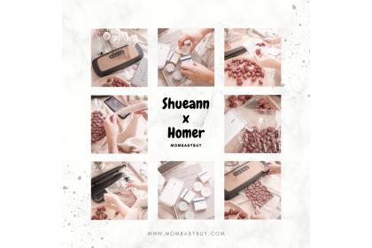 Shueann x 台灣 HOMER 幸福家真空保鮮機 + 藍牙標籤機