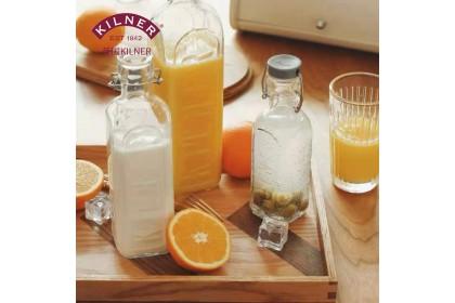 英國 【KILNER】CLIP TOP BOTTLE 扣式密封玻璃瓶