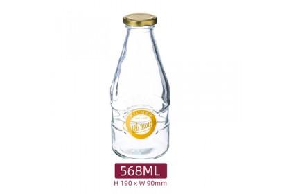 英國【KILNER】MILK BOTTLE 玻璃密封罐